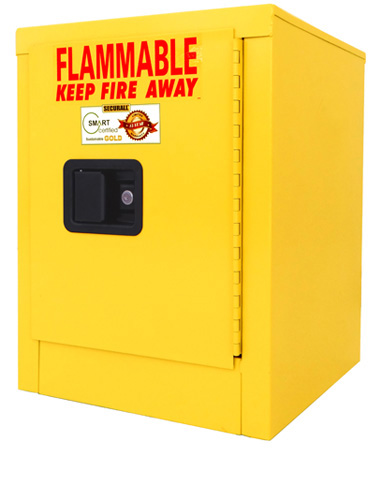 A102 - 4 Gal Flammable Cabinet, Flammable Safety Storage ...
