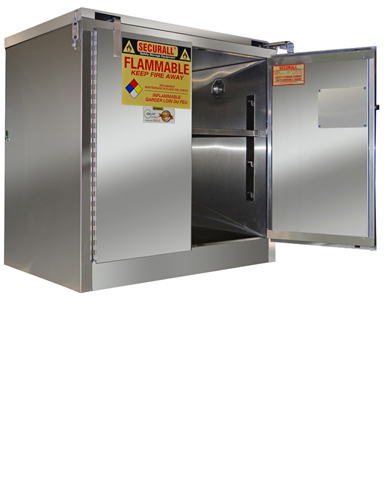 Securall A331 SS   Flammable Stainless Steel Cabinet, Stainless Steel  Safety Cabinet, Stainless Steel Cabinet For Flammables U0026 Hazardous Material
