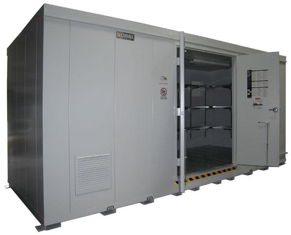 SECURALL® Buildings & Lockers - Chemical Storage Buildings