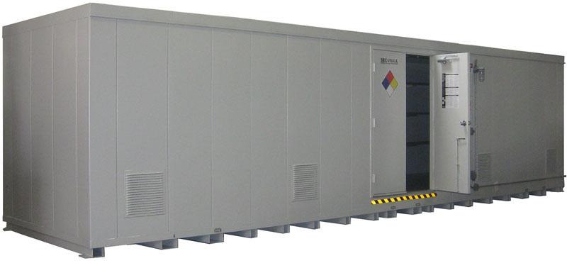 Portable Hazmat Storage Buildings : Securall buildings lockers chemical storage