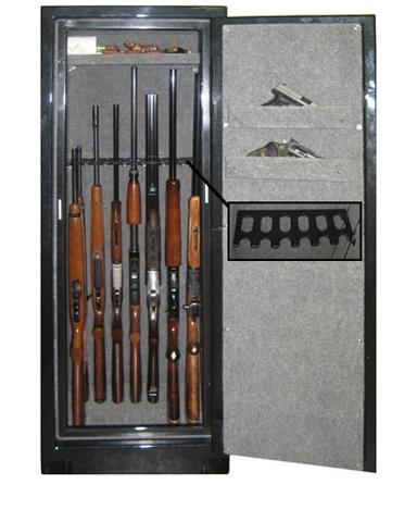 Securall Single Door 14 Gun Cabinet Gun Cabinet Gun Storage