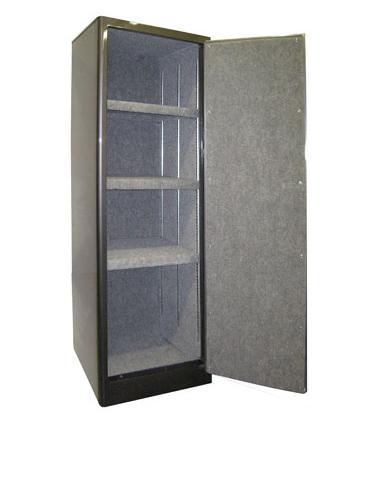SECURALL® SINGLE DOOR 3 SHELVES GUN CABINET - Gun Cabinet, Gun ...