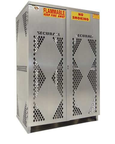 LP12S VERTICAL   Cylinder U0026 Tank Storage Cabinet, LP Cylinder Rack, LP  Aluminum Storage Cage, Gas Cylinder Storage Cabinet, LP U0026 Oxygen Storage