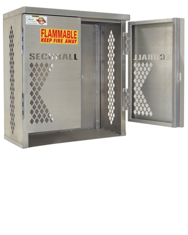 LP2S - Cylinder u0026 Tank Storage Cabinet LP Cylinder Rack LP Aluminum storage Cage Gas Cylinder Storage Cabinet LP u0026 Oxygen Storage  sc 1 st  SECURALL & LP2S - Cylinder u0026 Tank Storage Cabinet LP Cylinder Rack LP ...