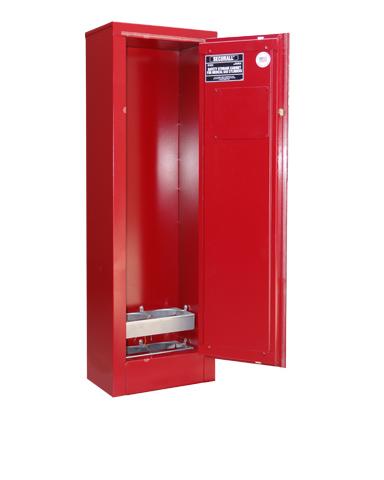 MG102E - Oxygen Cylinder Storage Cabinet, Gas Cylinder
