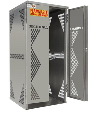 OG10S   Cylinder U0026 Tank Storage Cabinet, LP Cylinder Rack, LP Aluminum  Storage Cage, Gas Cylinder Storage Cabinet, LP U0026 Oxygen Storage