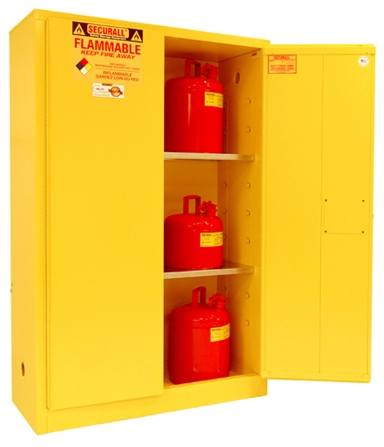 A145   45 Gal Flammable Cabinet, Flammable Safety Storage, Flammable  Storage Cabinet, Flammable Liquid Storage, Flammable Material Storage  Cabinet