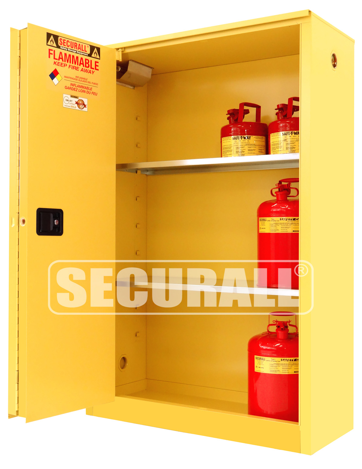 Superbe 45 GAL FLAMMABLE STORAGE CABINETS
