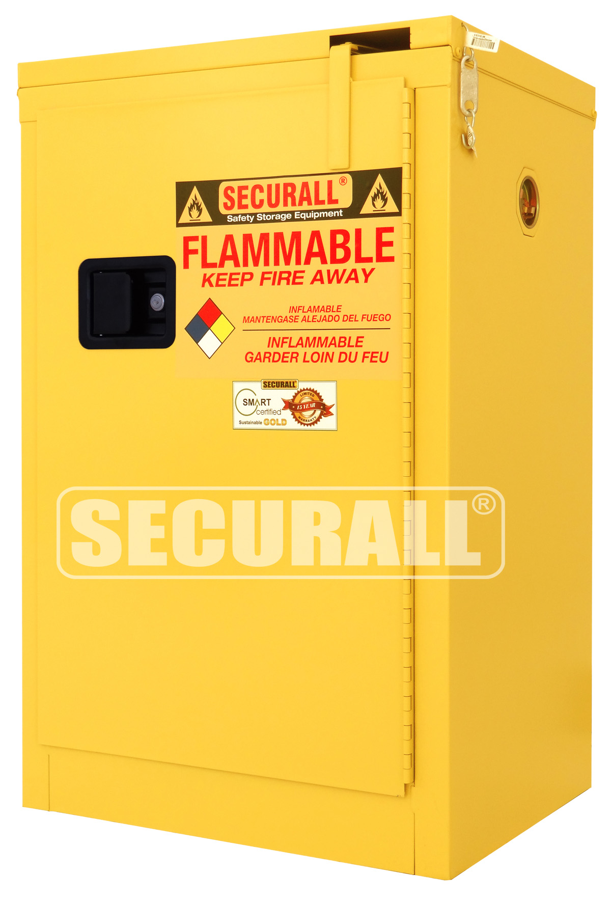 SECURALL Flammable Storage Flammable Cabinet Flammable Storage