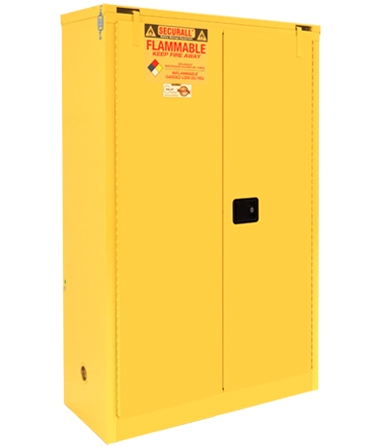 A345 - 45 Gal Flammable Cabinet Flammable Safety Storage Flammable Storage Cabinet Flammable liquid storage Flammable Material Storage Cabinet  sc 1 st  SECURALL & A345 - 45 Gal Flammable Cabinet Flammable Safety Storage Flammable ...