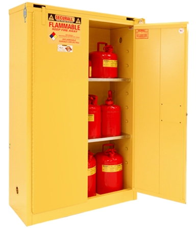 A345   45 Gal Flammable Cabinet, Flammable Safety Storage, Flammable  Storage Cabinet, Flammable Liquid Storage, Flammable Material Storage  Cabinet