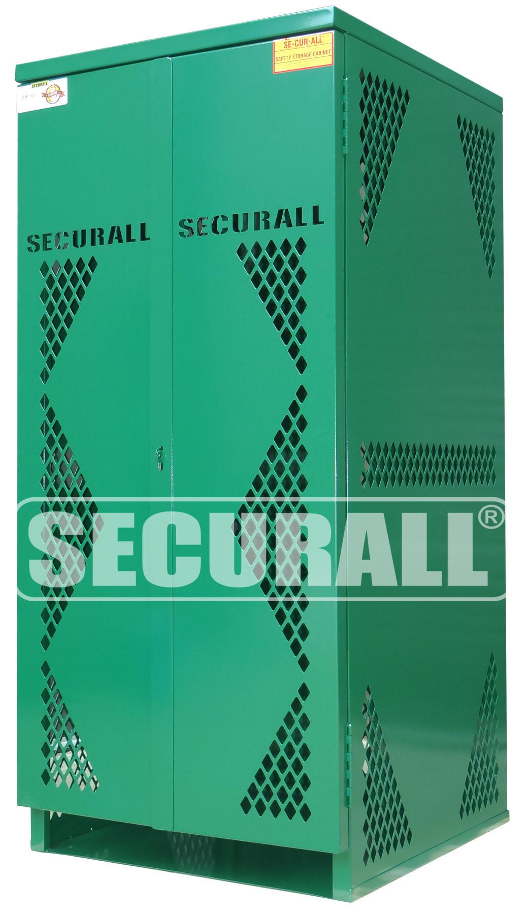 SECURALL® - Cylinder & Tank Storage Cabinets, Propane Gas Cylinder ...