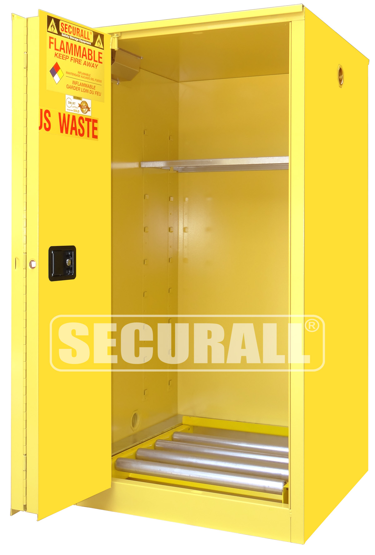 SECURALL Hazmat Storage drum Storage cabinets Hazardous Waste