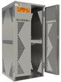 OG10S - Oxygen Cylinder/Tank Cabinet; Vertical Standard Door
