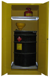 V160 - Flammable Drum Cabinet